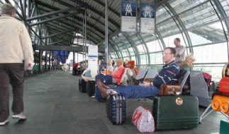 Leipzig Flughafen. (Foto)