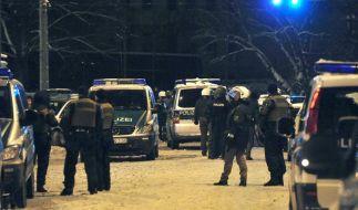 Leipziger Schneeballschlacht wird zur Straßenschlacht (Foto)