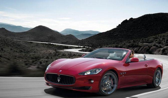 Leistungsstarke Version: Maserati GranCabrio Sport (Foto)