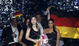 Lena gewinnt den Eurovision Song Contest (Foto)