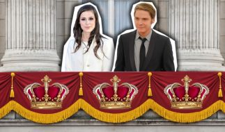 Lena und Daniel Brühl royal (Foto)