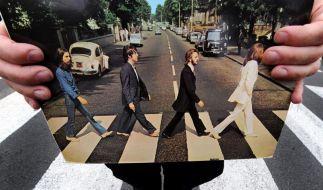Lennons weißer «Abbey Road»-Anzug wird versteigert (Foto)