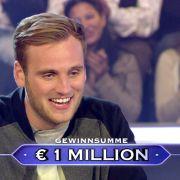 """Leon Windscheid 2015 bei """"Wer wird Millionär?"""". (Foto)"""