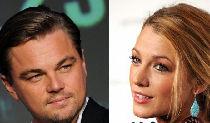 Leonardo DiCaprio und Blake Lively  (Foto)