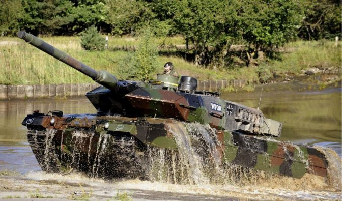 Leopard-Panzer (Foto)