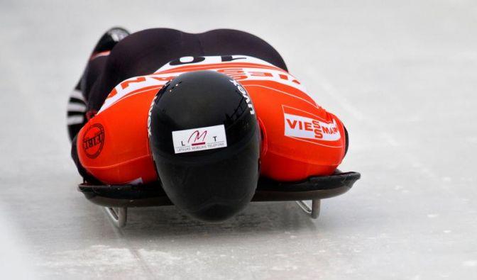 Lette Dukurs verteidigt Titel bei Skeleton-EM (Foto)