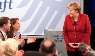 Letzter Bürgerdialog mit Merkel in Bielefeld (Foto)