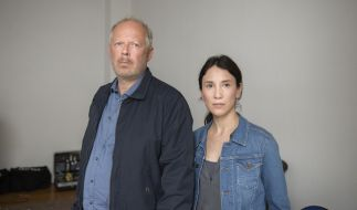 Letzter gemeinsamer Fall für die Kommissare Klaus Borowski (Axel Milberg) und Sarah Brandt (Sibel Kekilli). (Foto)