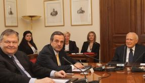 Letzter Versuch: Krisengespräch in Athen (Foto)
