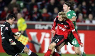 Leverkusen bezwingt den VfL Wolfsburg mit 2:0 (Foto)