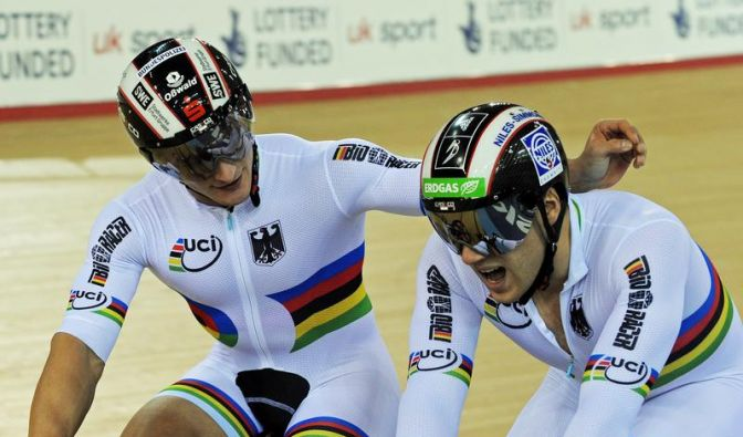 Levy, Enders und Nimke im Teamsprint bei Olympia (Foto)