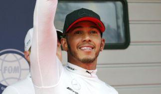 Lewis Hamilton hat den Großen Preis von China in Shanghai gewonnen. (Foto)