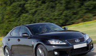 Lexus überarbeitet Sportmodell IS-F (Foto)