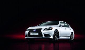 Lexus wertet LS-Baureihe auf (Foto)