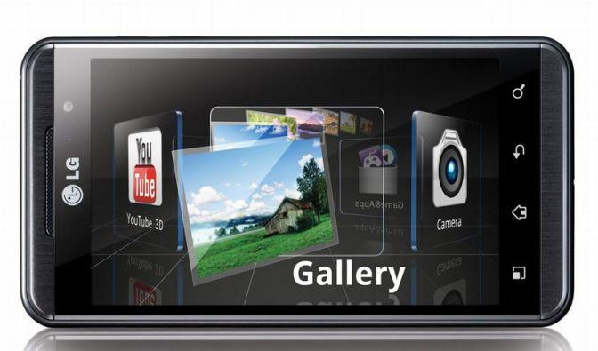 LG setzt auf 3D und Googles Android (Foto)