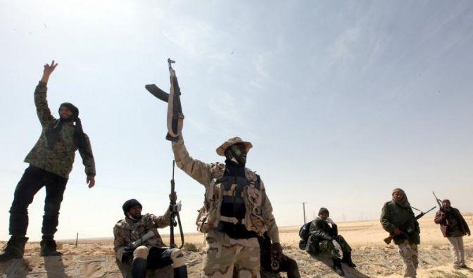 Libyen: Aufständische erobern Adschdabija (Foto)