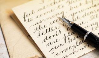 Liebesbrief und Zitate (Foto)
