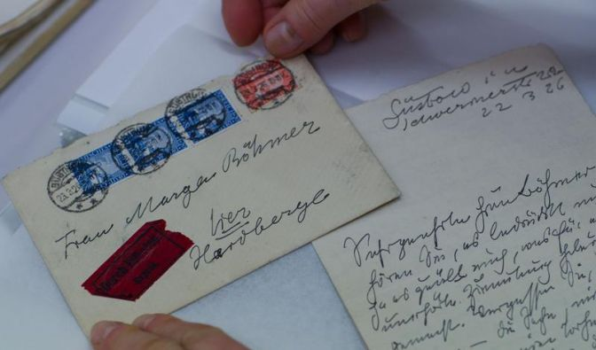 Liebesbriefe von Ernst Barlach als Buch veröffentlicht (Foto)