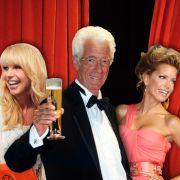 Linda de Mol (links), Rudi Carrell und Sylvie van der Vaart: Diese TV-Holländer lieben wir wirklich.