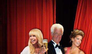 Linda de Mol (links), Rudi Carrell und Sylvie van der Vaart: Diese TV-Holländer lieben wir wirklich. (Foto)