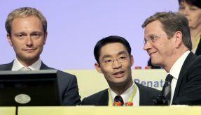 Lindner, Rösler und Westerwelle (Foto)