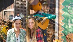 Lindsay Lohan, Samantha Ronson Disenyland (Foto)