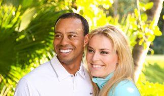 Lindsey Vonn und Tiger Woods haben sich offiziell zueinander bekannt. (Foto)
