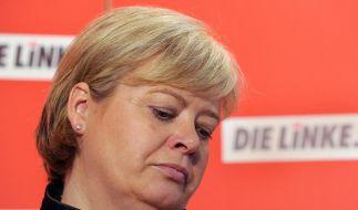 Linke-Chefin Lötzsch tritt zurück (Foto)