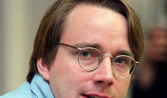 Linux-Erfinder Torvalds kämpft um PC-Desktop (Foto)