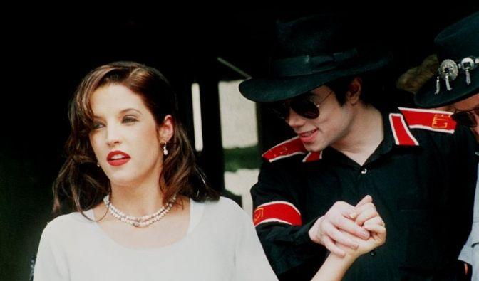 Lisa Maria Presley und Michael Jackson (Foto)