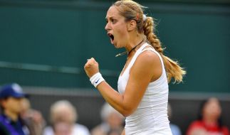 Lisicki setzt Wimbledon-Show fort (Foto)