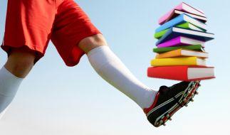 Literatur und Fußball (Foto)