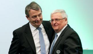 Lob und Leidenschaft: Niersbach DFB-Präsident (Foto)