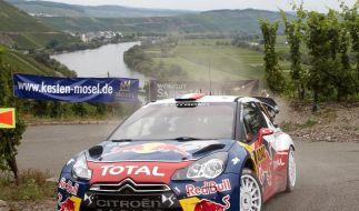 Loeb bei Deutschland-Rallye auf Kurs (Foto)