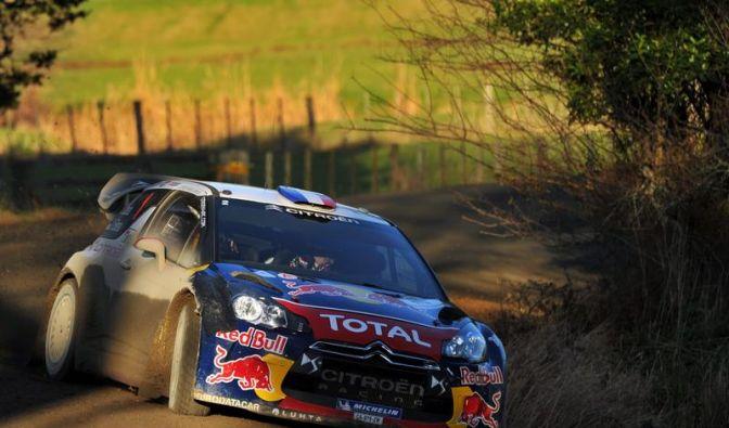 Loeb gewinnt ersten Rallye-Tag in Finnland (Foto)