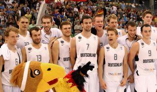 Lösbare EM-Aufgaben für deutsche Basketballer (Foto)