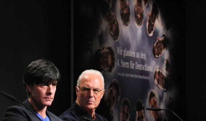 Löw und Beckenbauer (Foto)