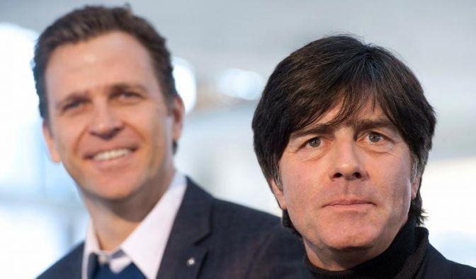 Löw und Bierhoff begrüßen Doppelspieltage (Foto)