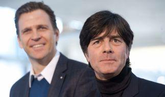 Löw und Bierhoff eröffnen EM-Countdown (Foto)