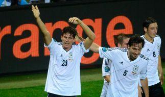 Löws neue Helden: Mario Gomez und Mats Hummels (Foto)