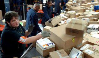 Logistikriese FedEx profitiert vom Onlineshopping (Foto)