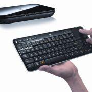 Logitechs Revue mit Tastatur.