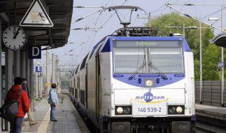 Lokführer bei Bahn-Konkurrenten setzen ihren Streik fort (Foto)