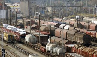 Lokführer bestreiken Güterverkehr - Folgen unklar (Foto)