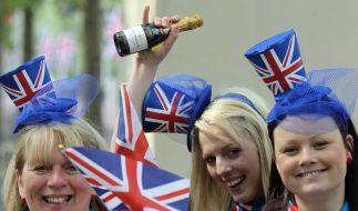 London feiert Traumhochzeit mit William und Kate (Foto)