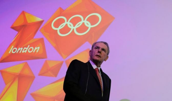 London gerüstet - IOC-Chef Rogge optimistisch (Foto)