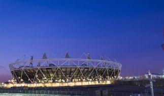 Londoner Olympiastadion offiziell eröffnet (Foto)