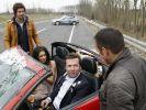 Lothar Matthäus hat Ärger mit der Polizei - zum Glück nur bei Dreharbeiten für die RTL-Serie Alarm für Cobra 11. (Foto)
