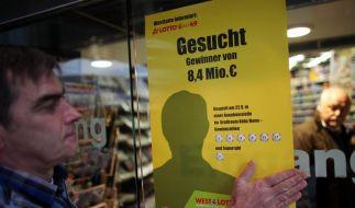 Lotto-Millionen: Gewinner noch gesucht (Foto)