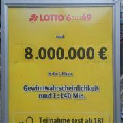 Lotto am Samstag-Quoten und aktuelle Gewinnzahlen (Foto)